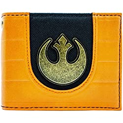 Cartera de Star Wars Rebel Alliance Logo Naranja