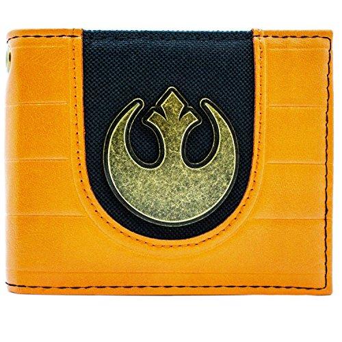 Star Wars Rebellen-Allianz Logo Portemonnaie Geldbörse Orange