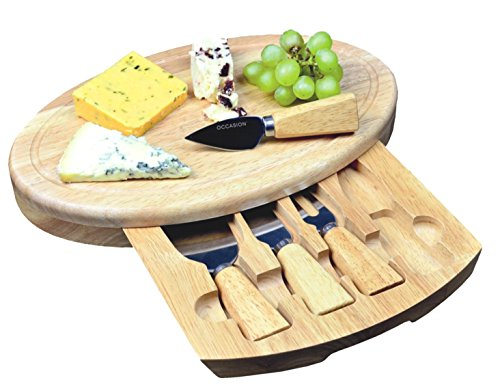 Large Oval Cheese Board Set With...