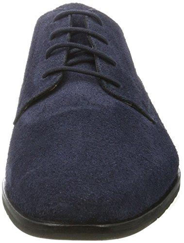 BIANCO - Dressy Derby Jfm17, Scarpe stringate Uomo Blu oltremare