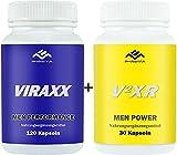 VIRAXX + V2RX Kombiangebot, Liebe, Lust und Leidenschaft EXTREM X 2 - 2er Pack