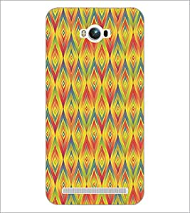 PrintDhaba Pattern D-5235 Back Case Cover for ASUS ZENFONE MAX ZC550KL (2016) (Multi-Coloured)