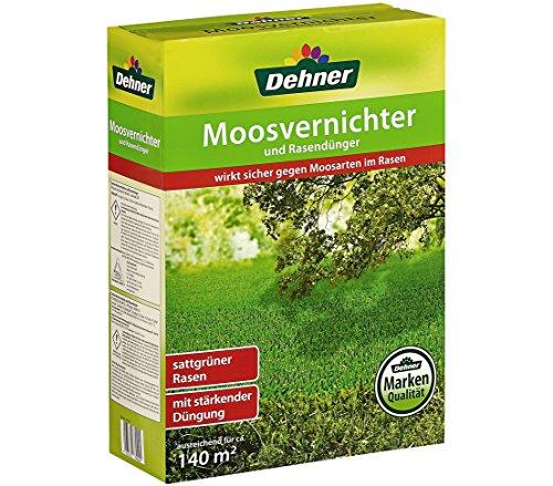 Dehner Moosvernichter und Rasendünger, 5 kg, für ca. 140 qm