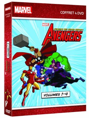 Avengers : l'équipe des super-héros - Coffret 4 DVD - Volumes 1-4