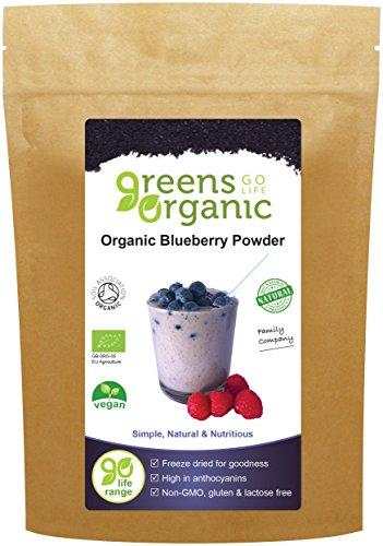 Greens Organic Organic Blueberry Pulver 100 g