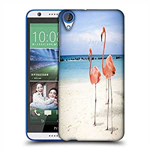 Snoogg Two Animals Designer Protective Phone Back Case Cover For HTC Desire 820
