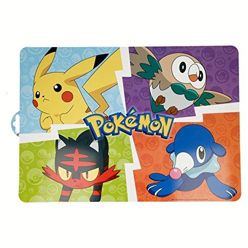 ALMACENESADAN 2153; individuelle Tischdecke Pokemon; 43 x 29 cm; Kunststoffprodukt; kostenloses BPA