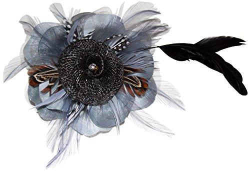 Lace & Bows - Bandeau - Femme Bleu bleu Taille unique silver