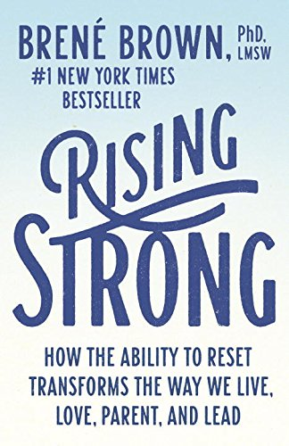 Rising Strong por Brene Brown