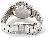 THE INVISIBLE CHEF 6621 - Reloj de cuarzo para hombre, con correa de acero inoxidable, color plateado de THE INVISIBLE CHEF