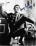 on Her Majesty 's Secret Service–James Bond –/George Genuine Authentic Hand Autogramm AFTAL COA