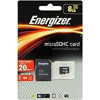 Energizer Classic Carte mémoire microSD Class 10 8 Go avec Adaptateur