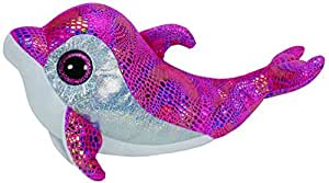 Ty Beanie Boos - 51cm Sparkles the Dolphin Large Soft Toy by Ty