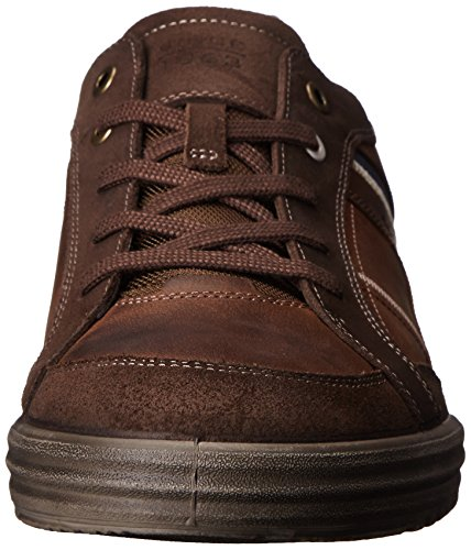 Ecco Fraser, Baskets mode homme Marron (Espresso/Cocoa Brown/Marine 58621)