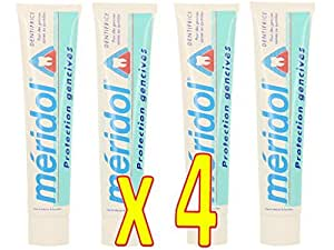 Méridol Dentifrice Lot de 4 x 75 ml