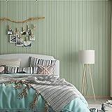yhyxll Papel Pintado Liso Impermeable Minimalista Moderno de PVC Sala de Estar Dormitorio decoración del hogar Rayas Verticales Papel Tapiz de Fondo 2