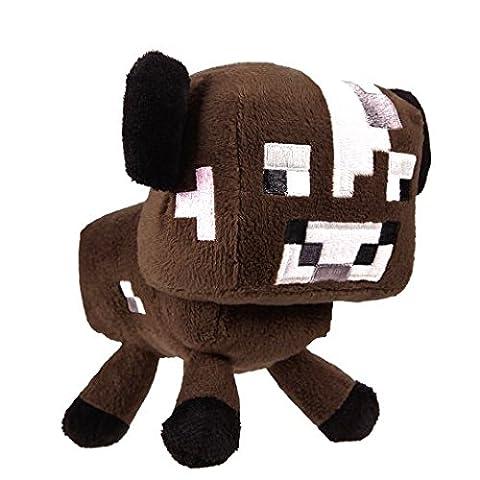 Mojang Minecraft Plush Baby Cow 6
