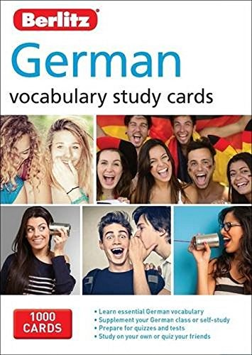 Berlitz Vocabulary Study Cards German