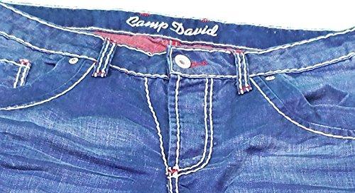camp david jeans bootcut cdu 9999 1448 used look 30w 30l. Black Bedroom Furniture Sets. Home Design Ideas