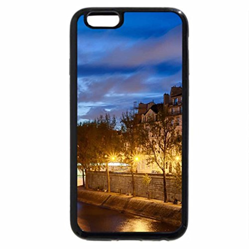iPhone 6S / iPhone 6 Case (Black) notre dame cathedral in paris at dusk