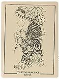 Übungshaut zum Tätowieren mit Motiv (4) 15 x 20 cm