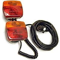 Magnetico di rimorchio o di un caravan di scheda di illuminazione 6m di cavo