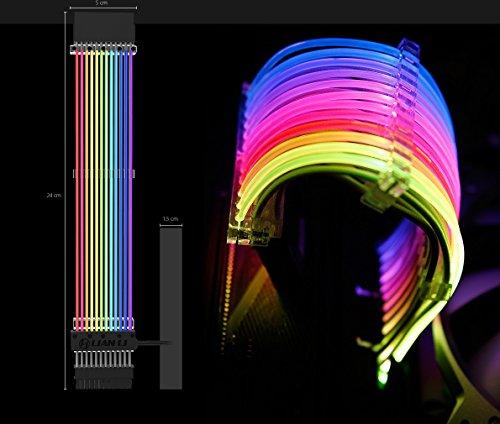 Lian Li Strimer 24-Pin RGB 20cm Mainboardkabel+Controller - Lian Li Controller