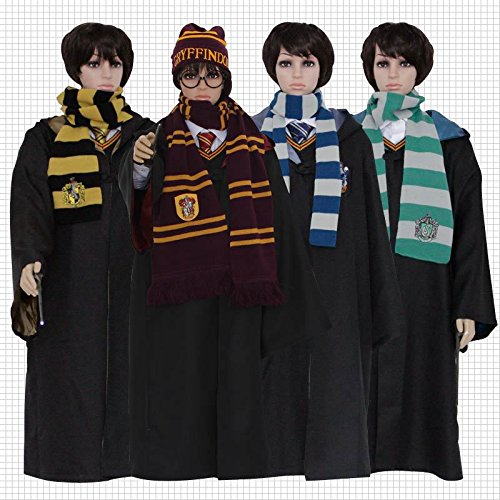 (Gorgeous Harry Potter Gryffindor Uniformen Zaubermantel Kleid -Halloween- Cosplay Lizenz)