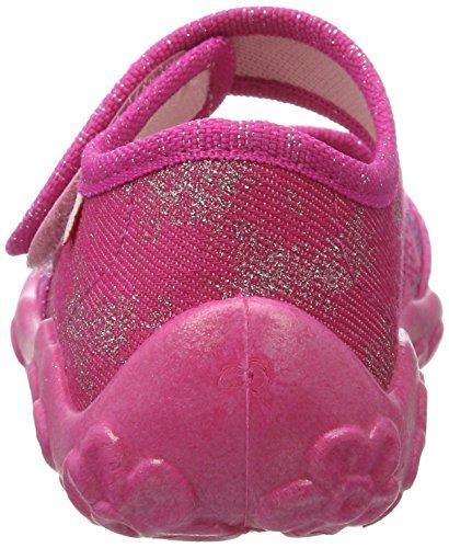 Superfit Mädchen Bonny Hausschuhe Pink (Pink Kombi)