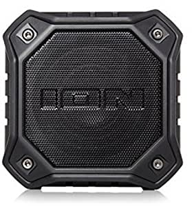 Ion Dunk Water-Resistant Portable Bluetooth Speakers, Black