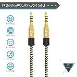 Mivi AC6B Aux Audio Cable - 6 Feet - (Black)
