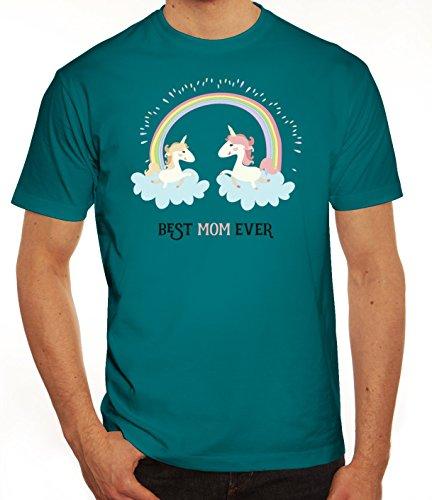 Einhorn Muttertag Herren T-Shirt mit Unicorn Best Mom Ever Motiv von ShirtStreet Diva