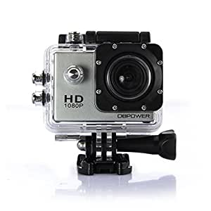 dbpower 1080p waterproof action camera dv 12mp hd dvr. Black Bedroom Furniture Sets. Home Design Ideas