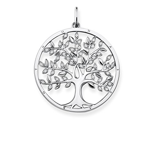 Thomas Sabo Damen-Anhänger Tree of Love Glam & Soul 925 Sterling Silber PE759-051-14