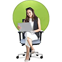 Backdropsource Portable Chair Green Screen for Webcam Video Streaming Gaming (Size - 130cm)