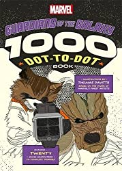 Marvel's Guardians Of The Galaxy 1000 Dot-to-Dot Book: Twenty Comic Characters to Complete Yourself (Drawing)