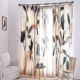 Piccolo fresco tenda Stampa Ombra tessuto tende soggiorno camera da letto 175x 140cm