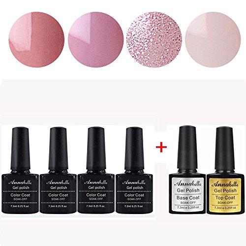 annabelle-quattro-colori-basetop-coat-smalto-semipermanente-nail-polish-uv-led-gel-unghie-kit-di-6-p