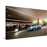Premium Textil-Leinwand 90 cm x 60 cm quer, VW Rallye Golf II   Wandbild, Bild auf Keilrahmen, Fertigbild auf echter Leinwand, Leinwanddruck (CALVENDO Sport)