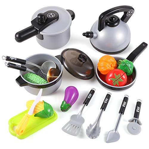 EFO SHM Küchenspielzeug Zubehör Kinderküche Kochgeschirr