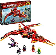 LEGO NINJAGO Kai Fighter 71704 building set with fighter jet and 4 minifigures, Toy for Boys and Girls 8+ year