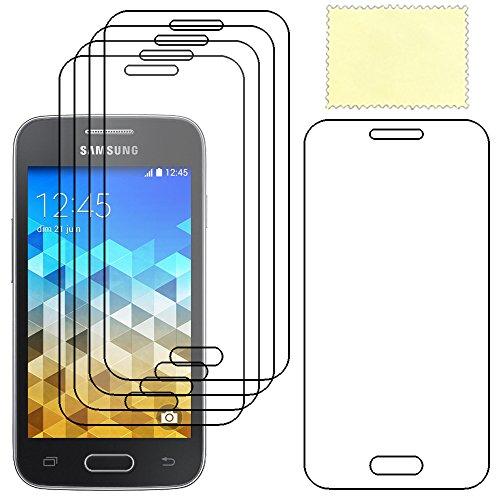 ebestStar - Compatible Pack x5 Film Protection Samsung Galaxy Trend 2 Lite SM-G318H, Galaxy V Plus Protecteur d'écran Plastique Souple Anti-Rayures [Appareil: 121.4 x 62.9 x 10.7mm, 4.0'']