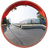 Xhz Xhz Blind Spot Spiegel Sicherheit Straßen Spiegel Biegen Anti-Kollisions-Reflective PC Wasserdichtes haltbarer Sonnenschutz im Freien Lager Garage Supermarkt Shop (Size : 80cm)