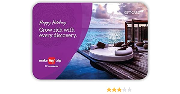 MakeMyTrip Holiday Gift Card