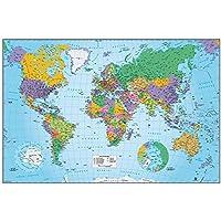 Grupo Erik Editores GPE4581 - Póster Mapa Mundo, 61 x 91,5 cm