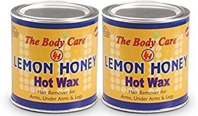 Bodycare Lemon Honey Hot Wax 600G Pack Of 2
