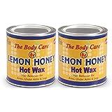 Bodycare Lemon Honey Hot Wax 600G Pack Of 2
