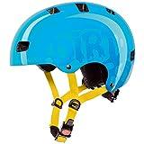 Uvex Kinder Kid 3 Fahrradhelm, Dirtbike Cyan, 51-55