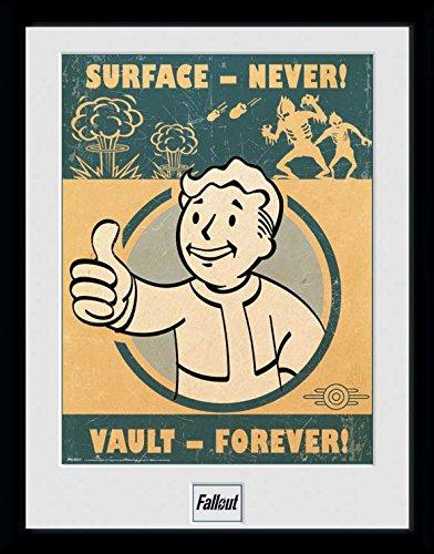 Fallout Framed Poster Vault Forever 45 x 34 cm GYE