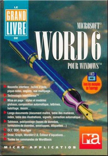WORD 6.0 POUR WINDOWS